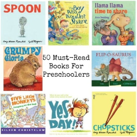 50 Must Read Books for Preschoolers