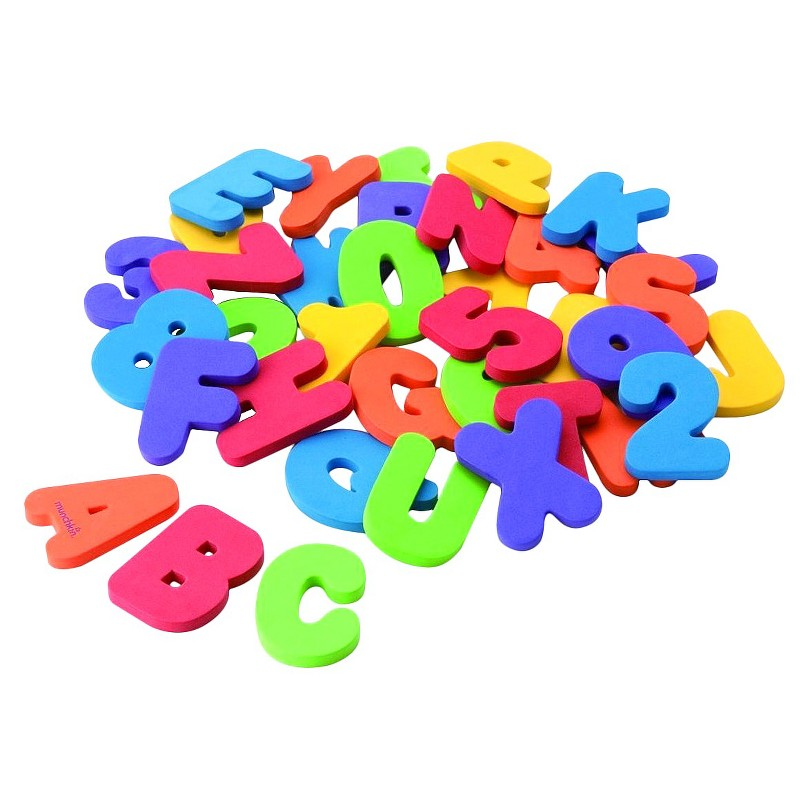 Bath Foam Alphabet Letters Numbers